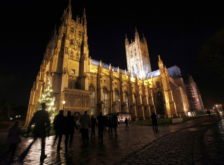 Canterbury cathedral christmas 2012