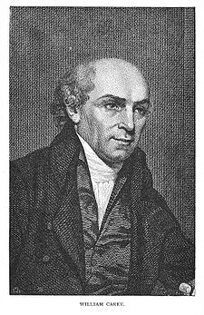 William Carey is regarded as the