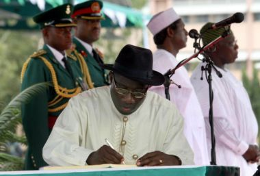 Christians want President Goodluck Jonathan and his administration to ...