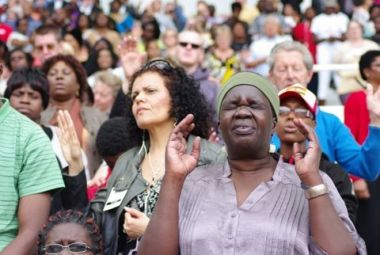 The Methodist Church said 89 of its congregations are holding ...