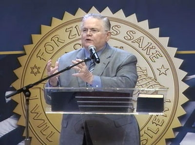 Controversial megachurch pastor John Hagee backs Trump for