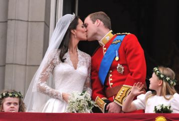 Prince William and his wife Kate Middleton, who has been given the ...