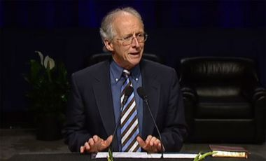John Piper said he wanted the church to feel the