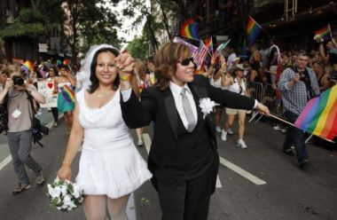 The legalisation of gay marriage in New York comes into force on July ...