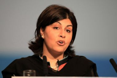 Baroness Warsi said Christians did not need to compromise their faith