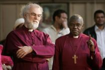 The Archbishop of York (r) is one of the favourites to succeed Dr ...
