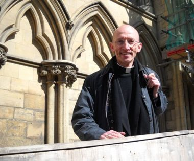 The new Bishop of Chichester Dr Martin Warner