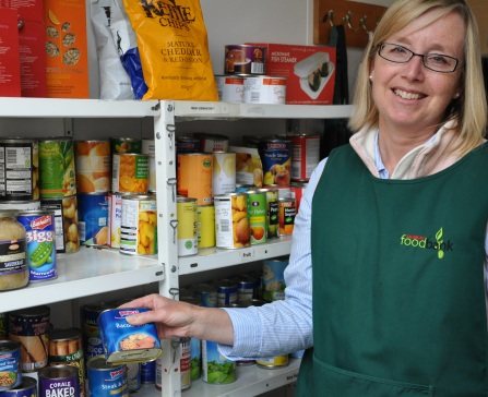 The Trussell Trust's 201 foodbanks across the UK are supported by ...