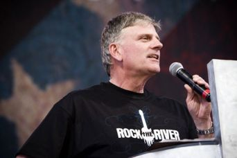 Preacher and evangelist Franklin Graham