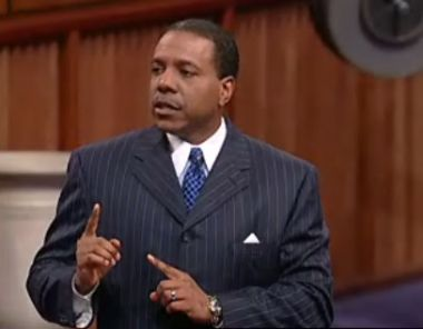 Creflo Dollar pastors a megachurch in Atlanta, Georgia, but has built ...