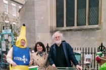 Trolley push raises awareness of UK food poverty
