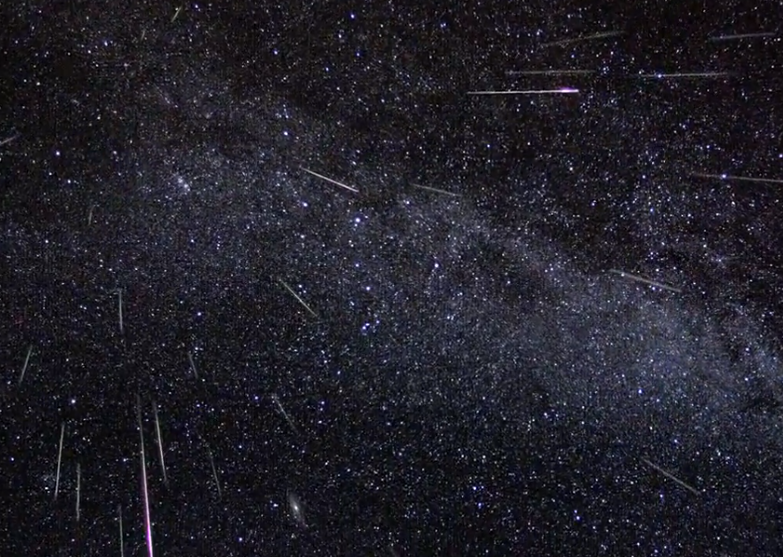 Meteor Shower August 2013 Perseids Best View Tonight How