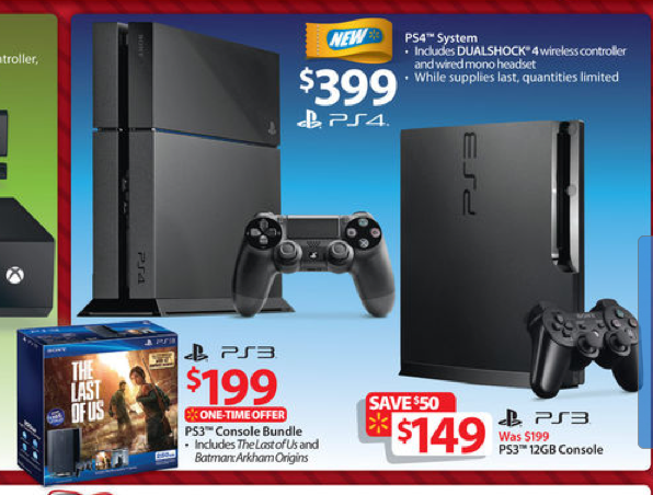 Ps4 Xbox One Black Friday 2013 Deals Latest Shoppers Kept In Dark But Ps3 Xbox 360 Bundles With Games On Sale At Walmart Bestbuy Target