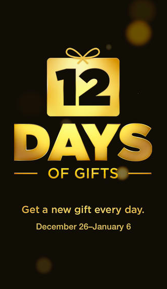 12 days of christmas apple giveaway