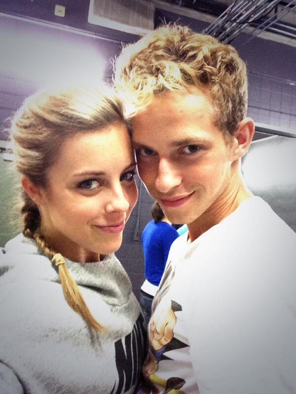 Adam Rippon with best friend Ashley Wagner