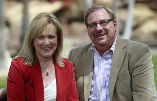Rick Warren's wife Kay says she is still recovering from childhood sexual abuse