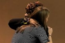 Widow forgives and hugs woman who killed her husband in car accident