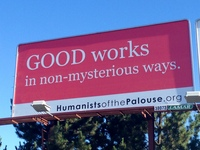 humanist billboard