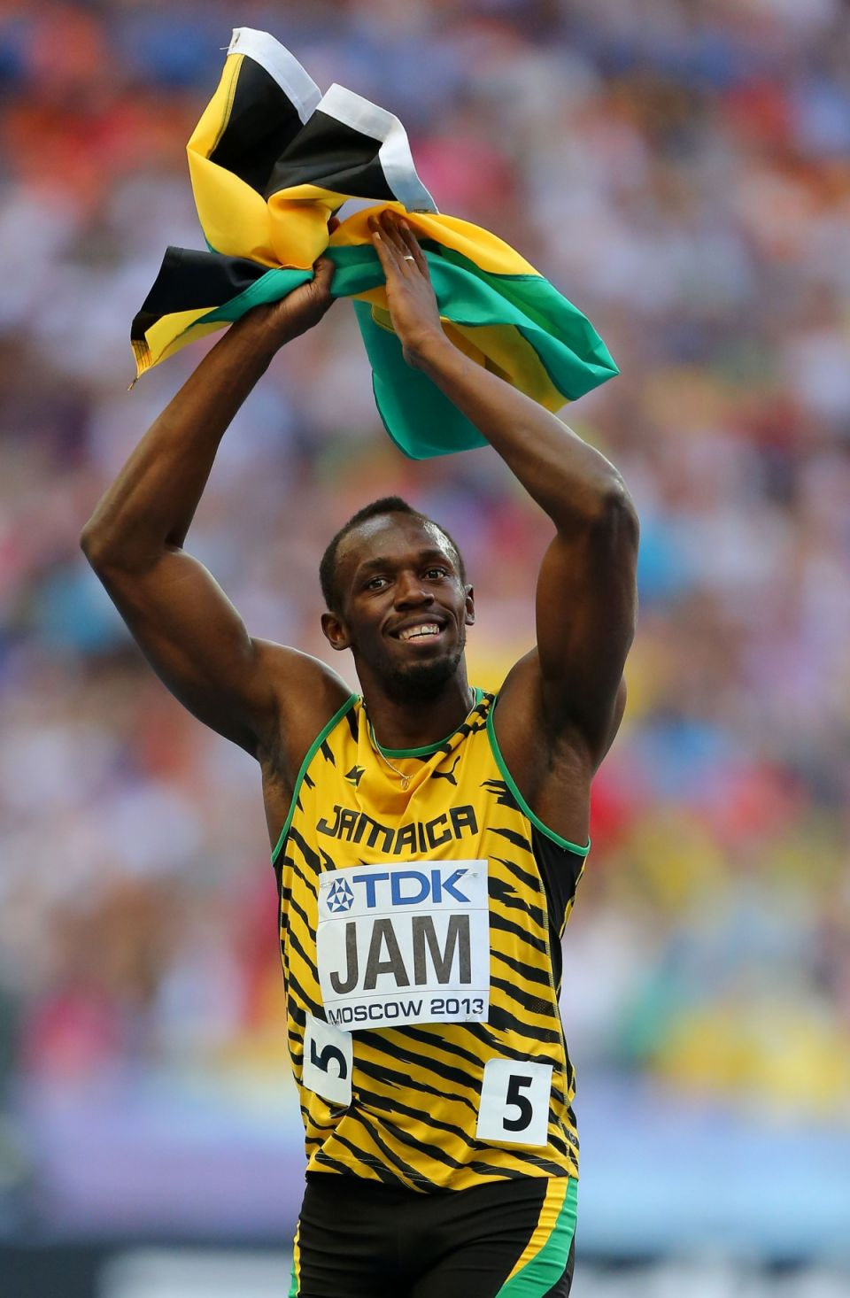 Usain Bolt news 2015: Edges out Justin Gatlin to win 100m ...