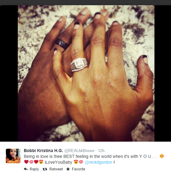 Bobbi Kristina Wedding Ring