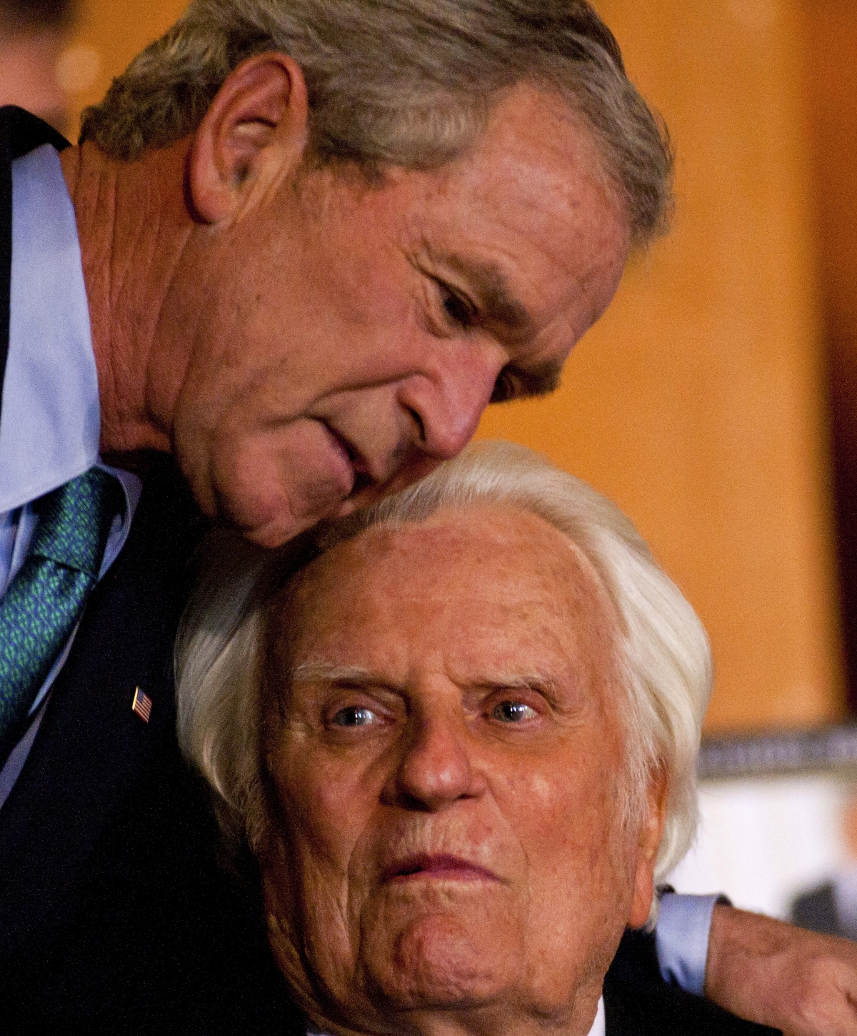Bush visiting NC Monday to pay respects to Rev. Billy Graham