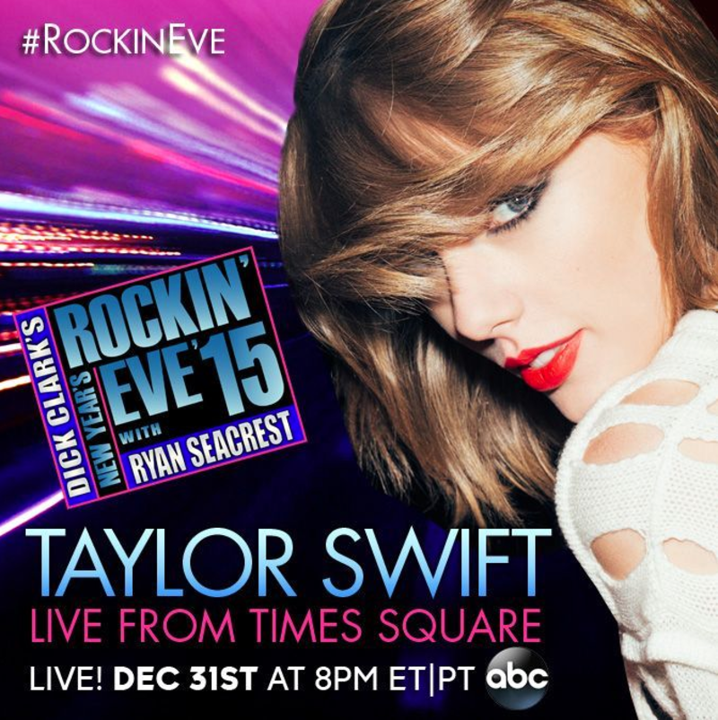 Dick Clark's 'New Year's Rockin' Eve 2015'(ABC TV time ...