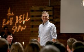 Pastor Rob Bell accuses American evangelicals of putting guns before God and the Bible