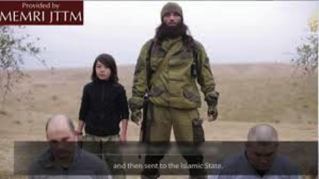 ISIS' child executioner caught on video