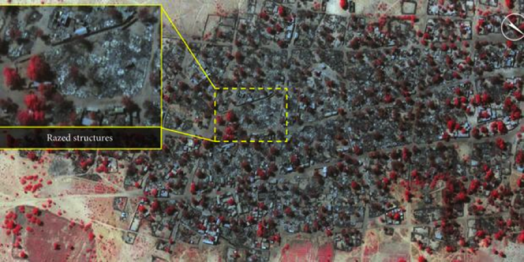Boko Haram Baga attack: Photos reveal scale of devastation
