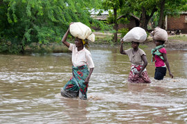 Malawi suffers from flood