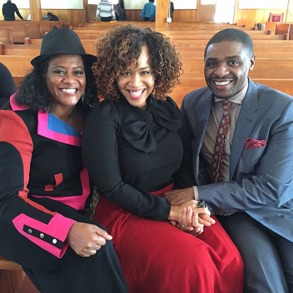Tina Campbell preached her first sermon