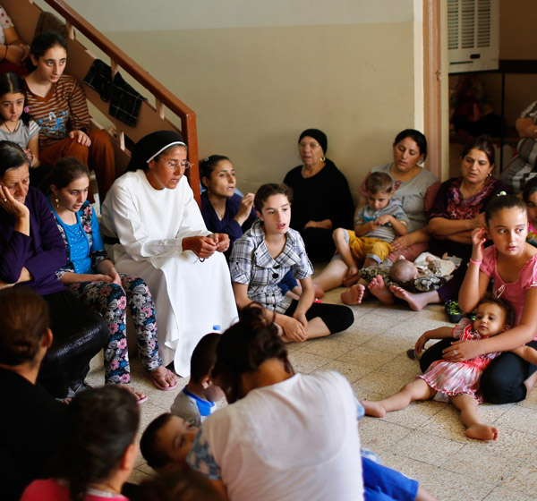 Displaced Iraqi Christians in Erbil