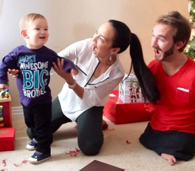 Nick Vujicic and his wife are expecting their second child!