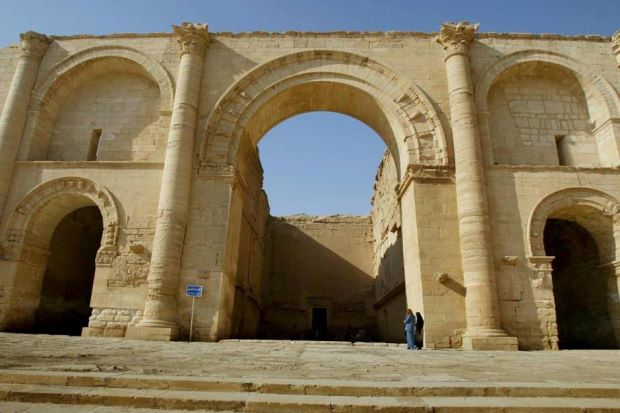 The ancient Iraqi city of Hatra