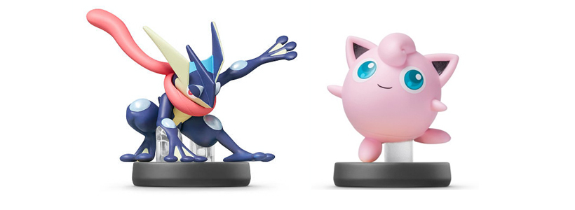 New Amiibo Wave To Come Out Next Month Greninja And Jigglypuff