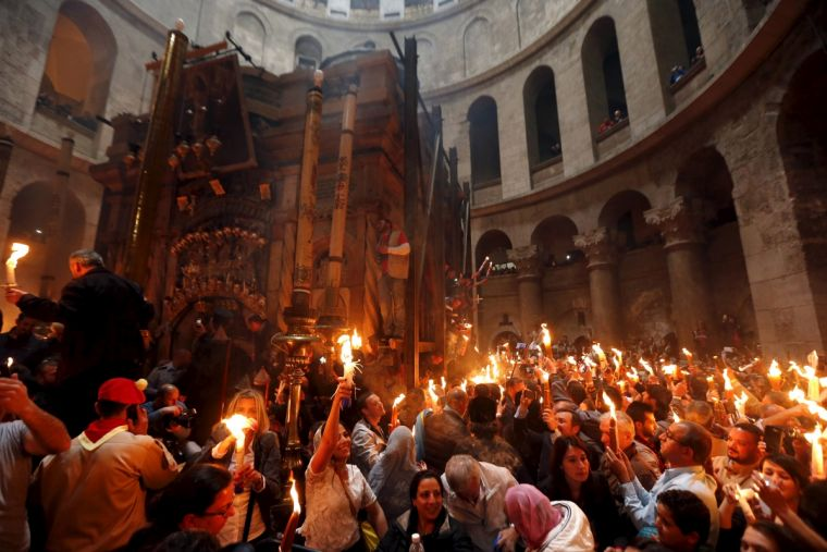 Holy fire sepulchre