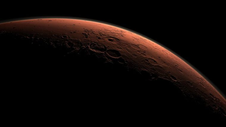 A view of Mars