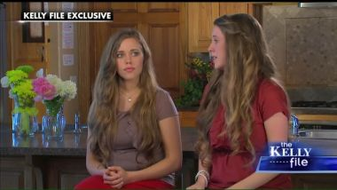 Jessa and Jill Duggar During The Kelly File Interview