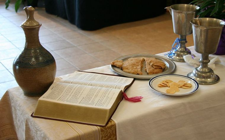 Eucharist table