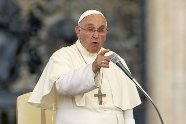 Pope Francis encyclical on environment