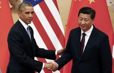 President Obama with Chinese President Xi