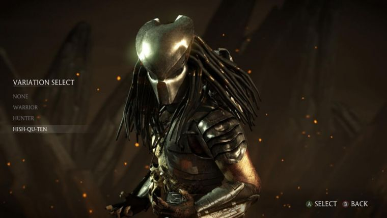 Mortal Kombat X Characters List Predator Included In Game S Cast