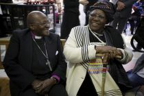 Archbishop Desmond Tutu and wife Leah renew wedding vows, celebrate 60th anniversary