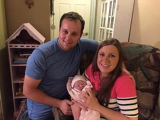 Josh and Anna Duggar Welcome Meredith Grace