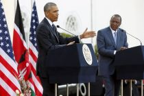 President Obama ignores African warnings, champions cause of gays in visit to Kenya