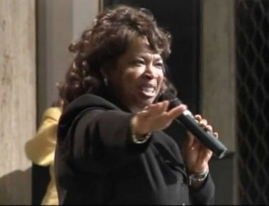 Bishop Corletta Vaughn of Holy Ghost Cathedral in Detroit