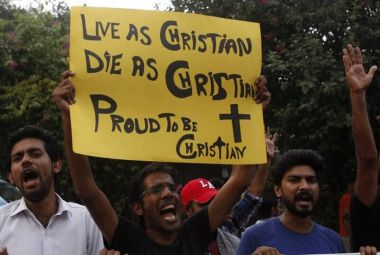 Protest against Christian persecution in Pakistan