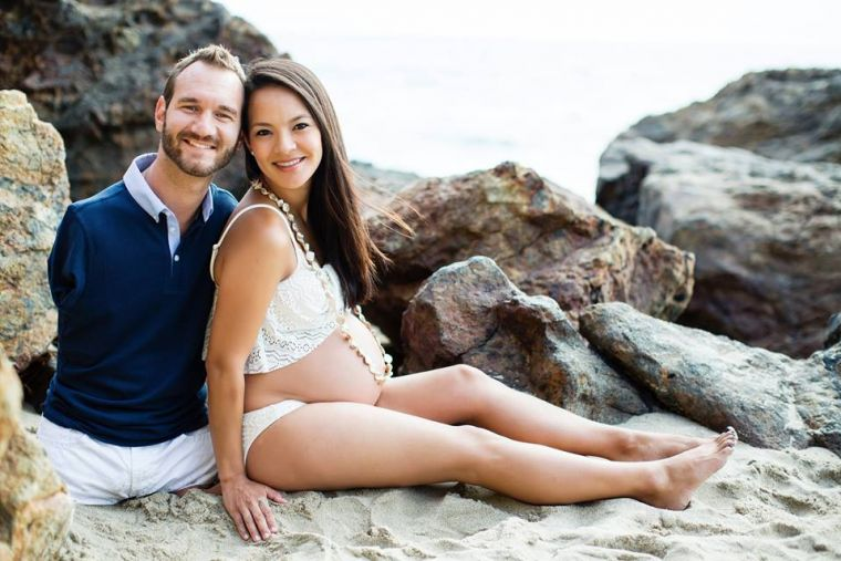 Nick and Kanae Vujicic