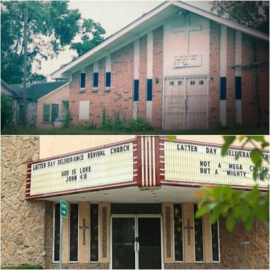 Two churches in Houston