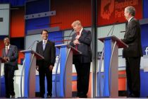 Trump stands out in 1st GOP presidential debate, but no clear winner or loser seen